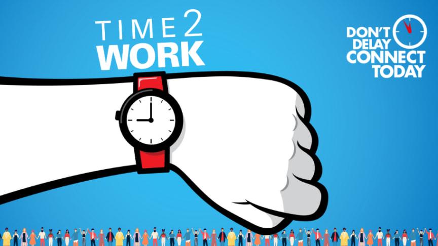 """""""Time2work"""" är temat för Reumatikerförbundets kampanj på Internationella reumatikerdagen."""