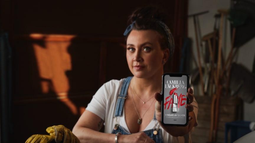 Camilla Läckbergs nya bok slog lyssningsrekord