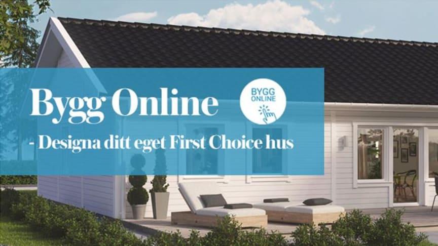 Bygg online - First Choice 1.0 Classic och ytterligare 13 husmodeller