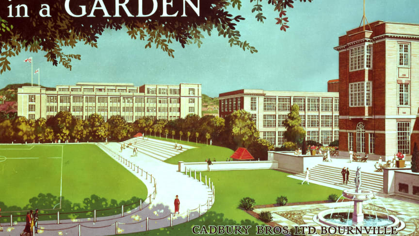 "George and Richard Cadbury's ""The Factory in a Garden"""