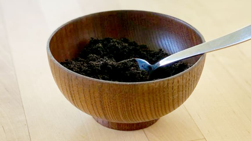 ​Reuse the coffee grounds