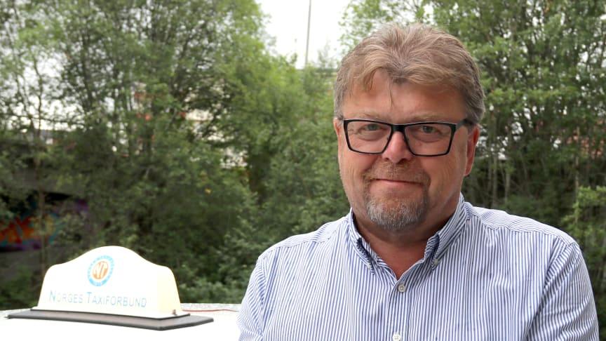 Leder Øystein Trevland ser fram til landsmøte og hundreårsfeiring i Norges Taxiforbund. (Foto: Bladet TAXI).