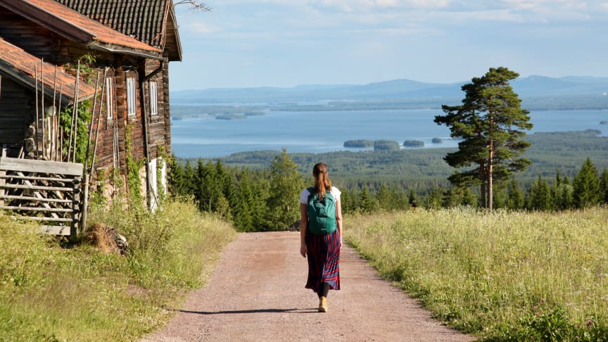 Dalarna byr på mye vakker ntur. Foto: Hanne Marit Tobiassen