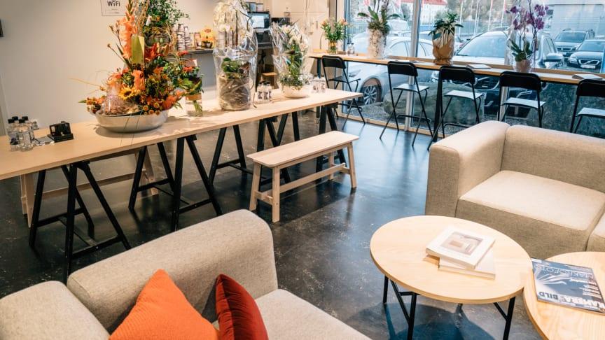Bild från den nya butiken. Foto: Johan Borehed