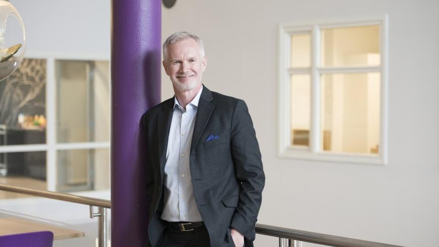 Teknisk direktør Dag Wigum i Telia Norge er godt fornøyd med den nye fiberavtalen med TDC