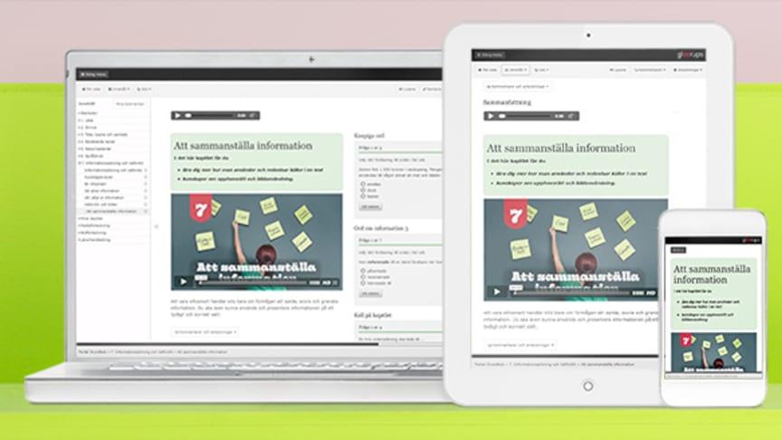 Gleerups alla webbtjänster nu plattformsoberoende