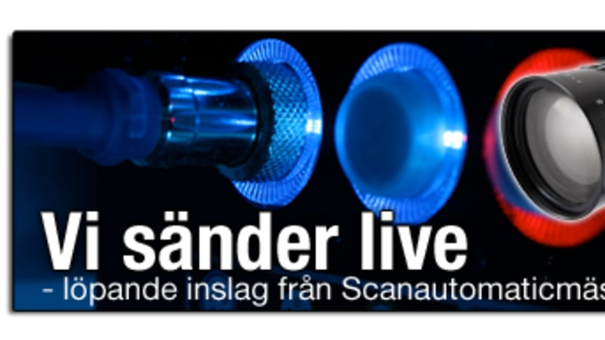 Induo livesänder från Scanautomatic