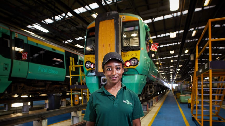 GTR has teamed up with AFBE-UK for an interactive webinar to promote diversity in engineering. Pictured: Katrina-Rose Allen (more images below)