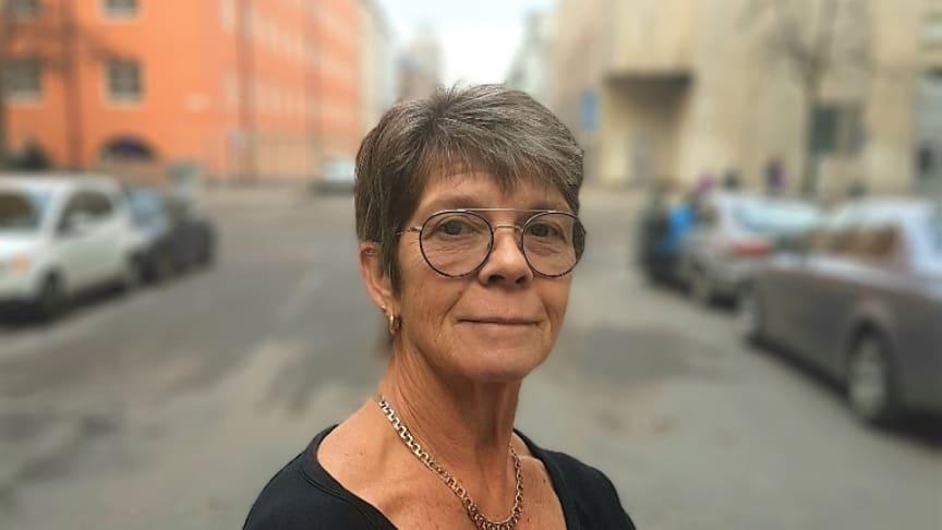 Christina Franzén, ordförande i Hiv- Sverige