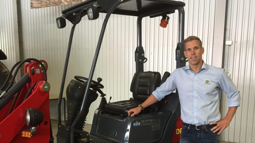 Magnus Åhman, VD Åhmans Traktorcentrum.
