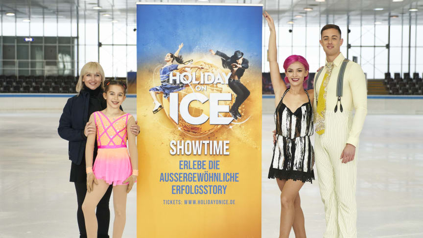 HOLIDAY ON ICE stellt neue Produktion SHOWTIME in München vor