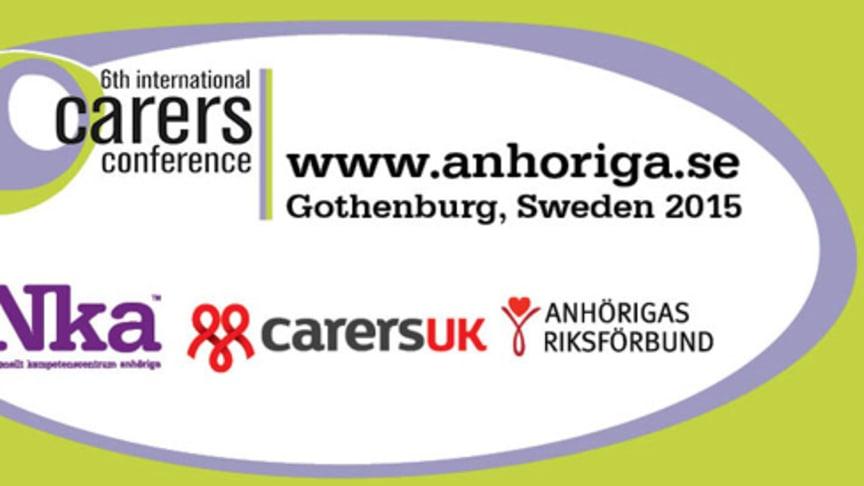 6:e internationella anhörigkonferensen i Göteborg