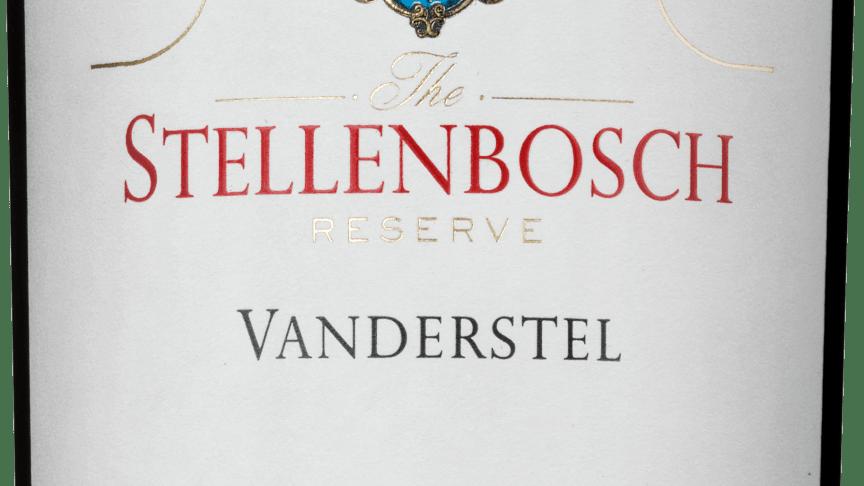 Stellenbosch Reserve Vanderstel 2015 - succévin i ny exceptionell årgång!