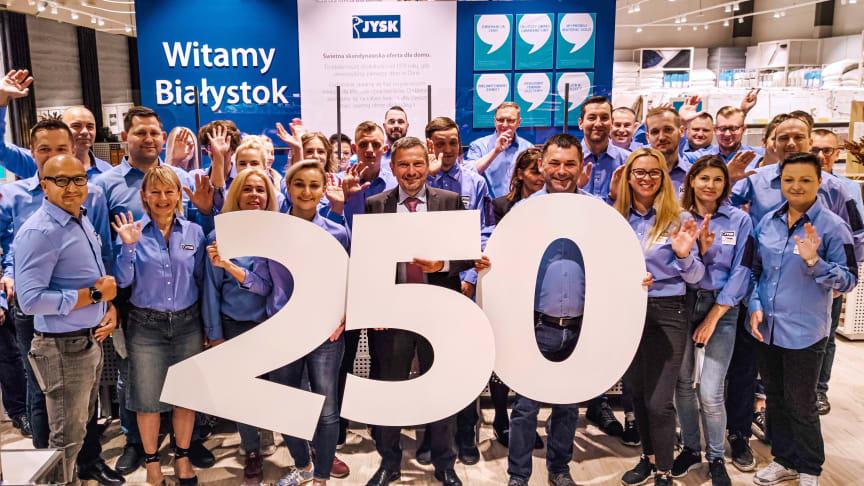 JYSK otworzył 250 sklep w Polsce