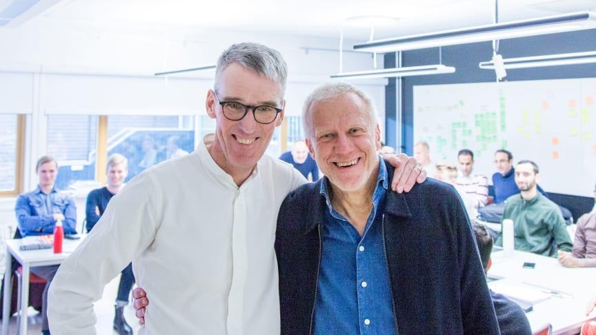 Ola Malm och Tomas Alsmarker