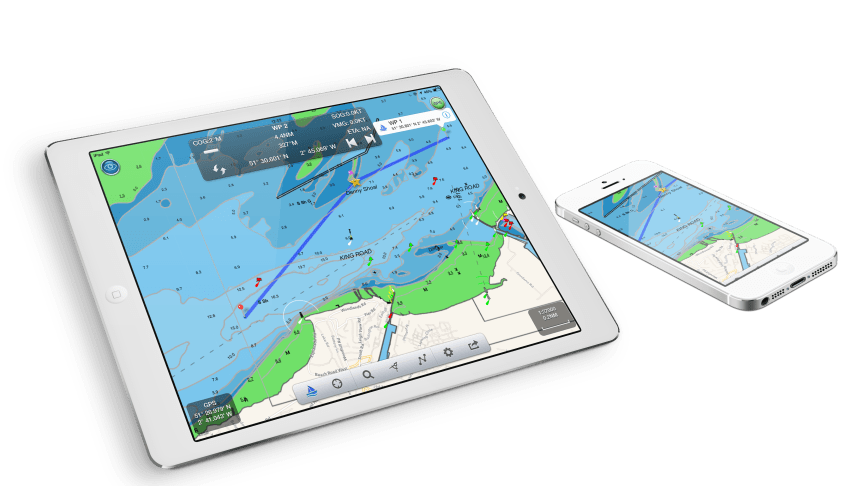 NavLink Charting App From Digital Yacht Now Covers France, Holland and Germany