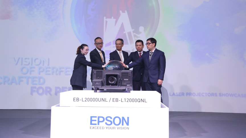 The launched in Bangkok showcased the new powerful projectors that are designed to expand Epson's line-up in the high-end AV rental sector