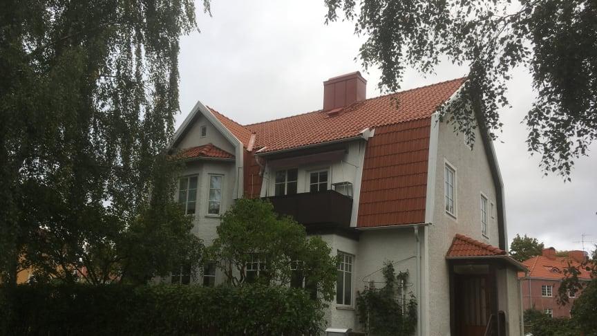 Sveriges bästa takläggare 2018, King of Roofs - Bankeryds Takläggare AB med sitt Vittinge-tak i Jönköping.