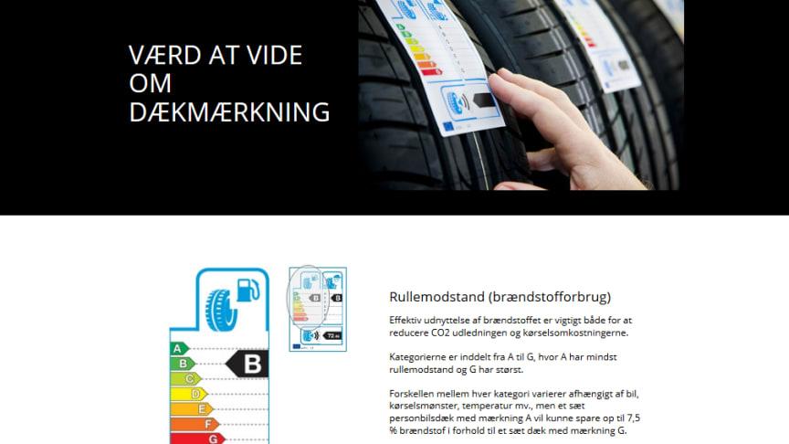Dæklabel.dk hjælper med oplysninger om dækmærkning
