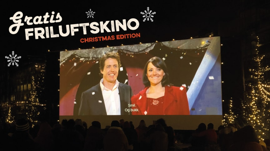Opplev juleklasssikeren Love Actually under stjernehimmelen på Kringsjå Studentby