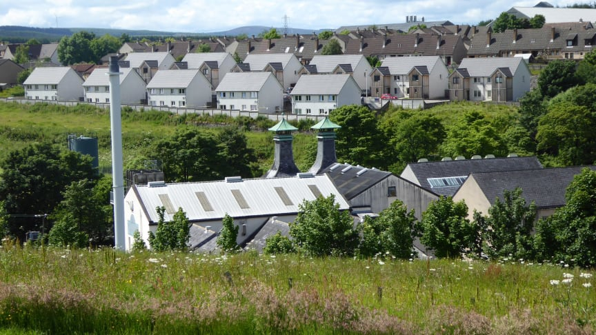New housing in Keith