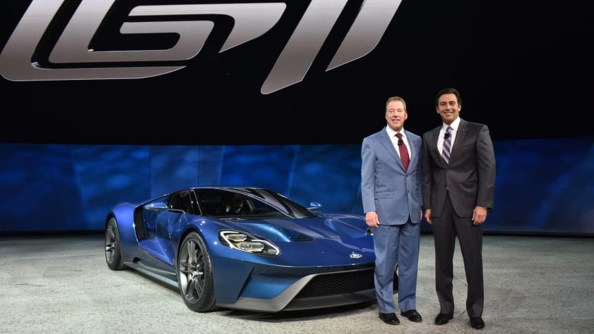 NAIAS 2015 - afsløring af ny Ford GT