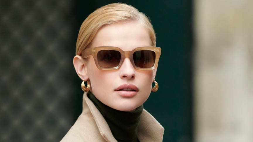 ​As sunnier days approach, these stylish specs will be a perfect addition to your wardrobe.