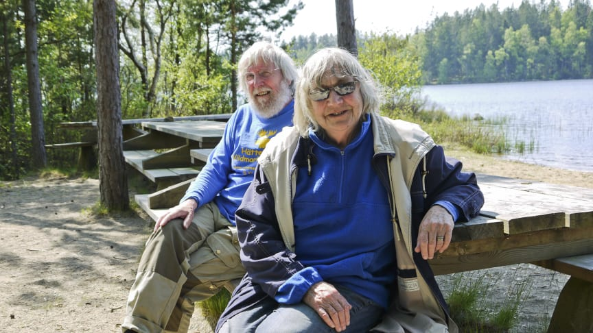 Priset Årets Turistentreprenörer i södra Småland till Hätteboda Vildmarkscamping