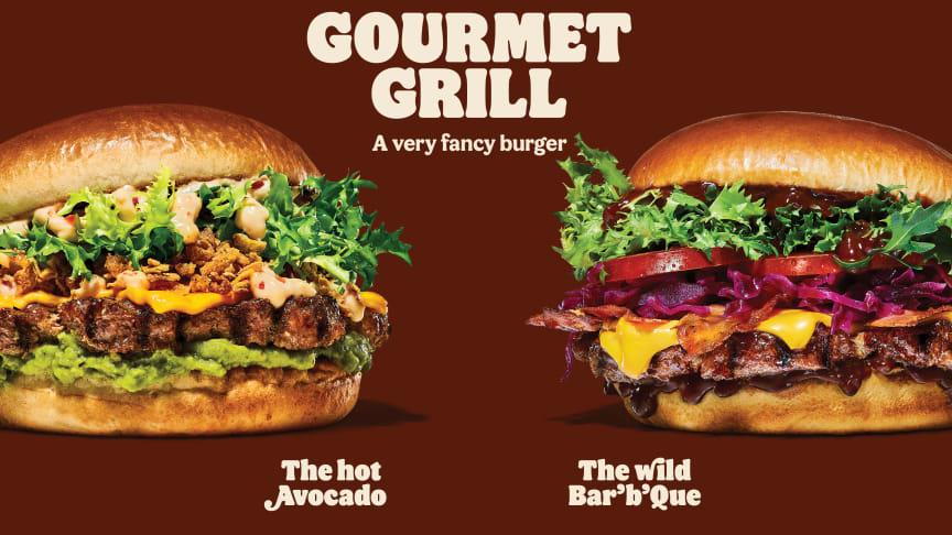 I dag lanserer Burger King Gourmet Grill-serien over hele landet.