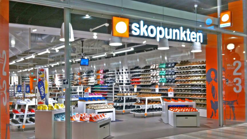 Skopunkten öppnar butik i Gävle