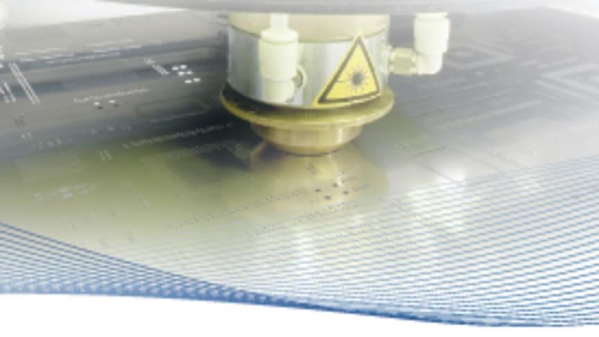 LPKF visar den nya Stencillasern G 6080 - Missa inte premiären på Electronica i München 9:e till 12:e November