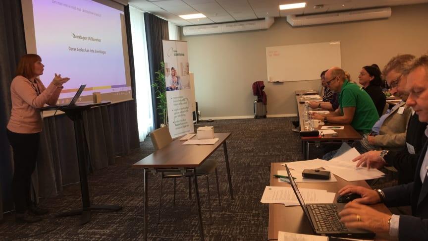 Länsstyrelsen i Skåne presenterar sin erfarenheter kring godkännandeprocessen av radonbidrag