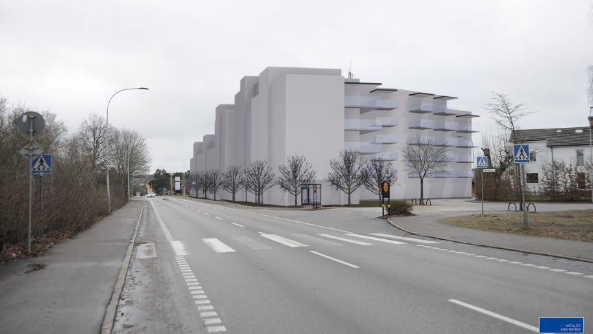 Nu släpps detaljplanen för HSBs industrifastighet på Öster i Växjö
