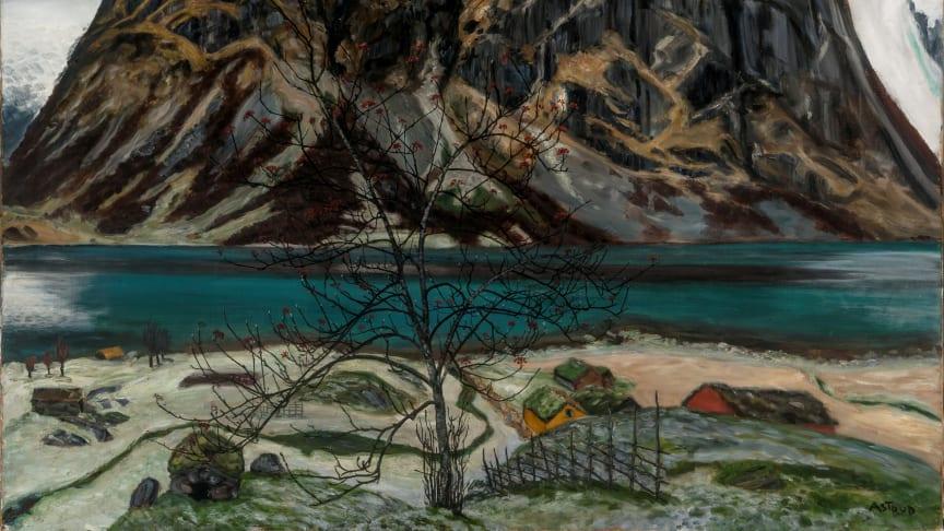 Den storstilte utstillingen «Rå natur» viser nærmere 100 verk av Nikolai Astrup.