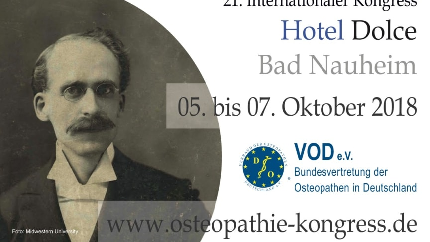 Spannender Kongress: Osteopathie und Wissenschaft / 21. Internationaler Osteopathie-Kongress des VOD vom 5.-7. Oktober 2018 in Bad Nauheim