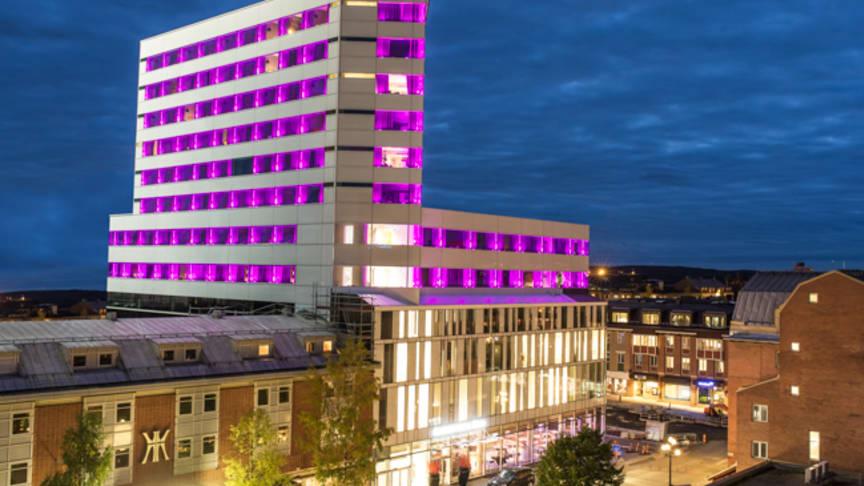 Umeås högsta hotell når (festival)stjärnorna