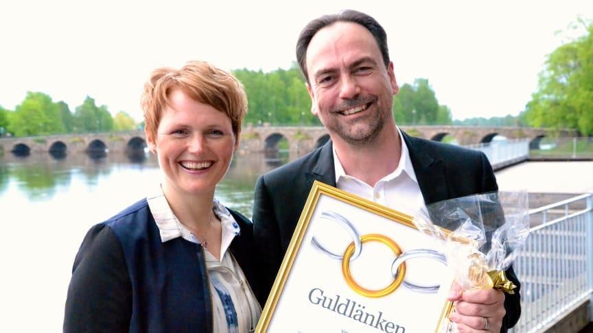 Joakim Jardenberg prisas som årets offentliga innovatör