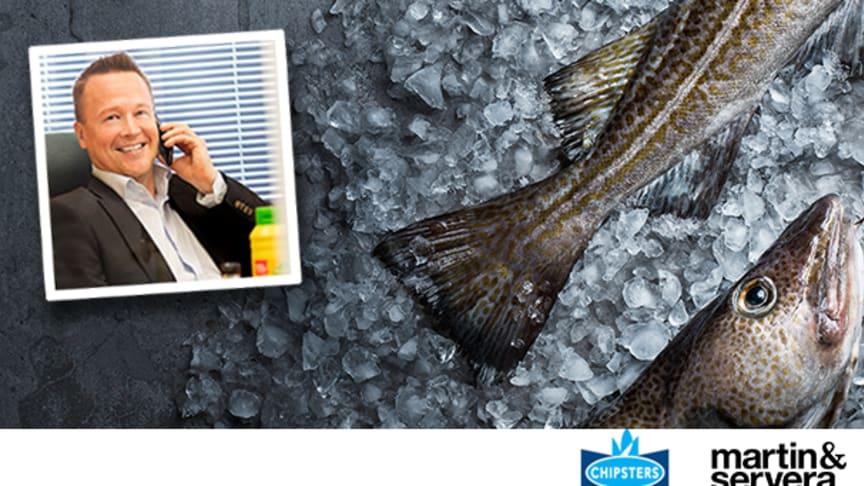 Ari Maijanen, ny vd för Martin & Serveras finska dotterbolag, Chipsters Food