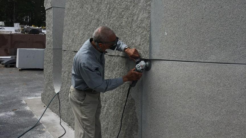 Martin Puryer at work