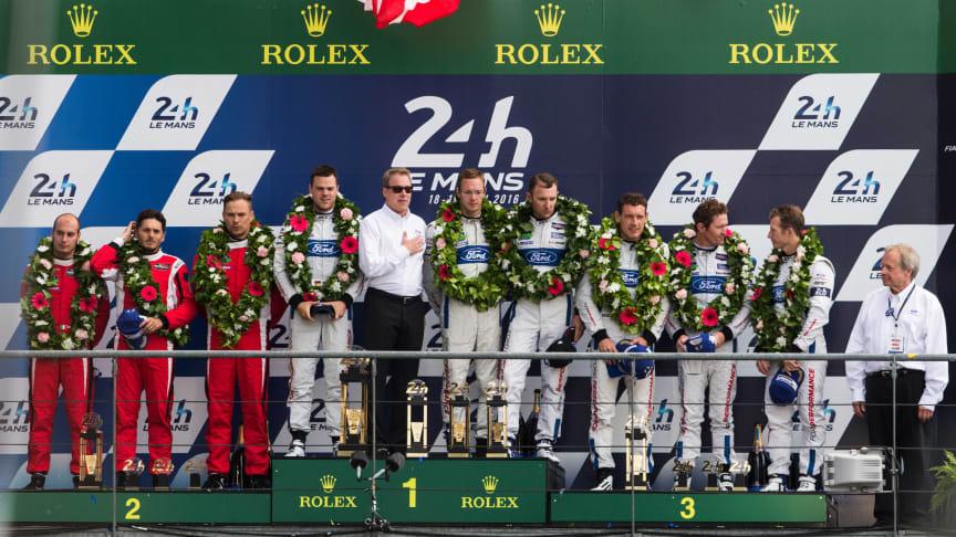 Ford deltager endnu en gang i det 24-timers løb Le Mans