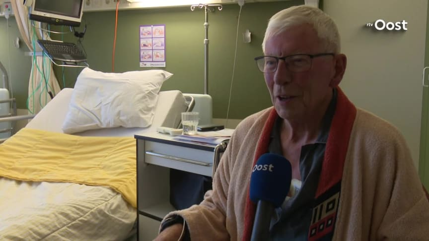 ZGT Hospital in Almelo, NL, monitors patients remotely with Isansys' wireless patient monitoring technology