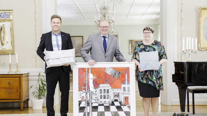 Värmlands gåvor till Prins Carl Philip och Fröken Sofia Hellqvist