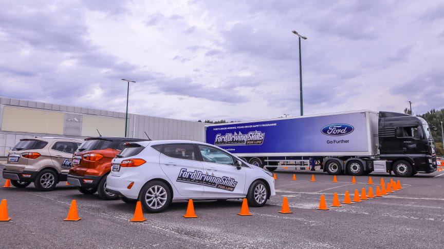 Ford Driving Skills for Life 2018 Budapest