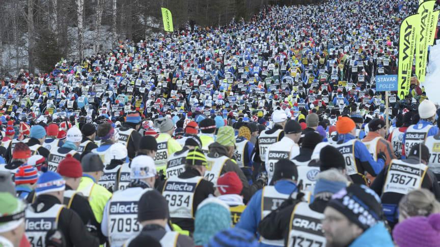 Deltagare län för län i Vasaloppets vintervecka 2014