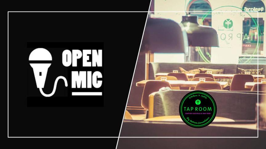 Open Mic - öppen scen Stockholm tar över scenen på Tap Room Kungsholmen
