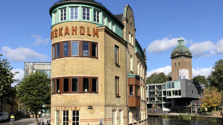 Viskaholm är en av Borås mest kända fastigheter.
