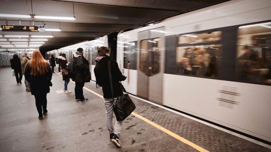 HELT NYTT SYSTEM: Sporveien skal innføre et helt nytt signalsystem med CBTC-teknologi for T-banen. Systemet skal blant annet gi høyere kapasitet og bedre styring av trafikken i hele T-banenettet.