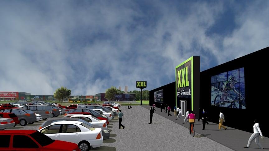 XXL etablerar 4000 m2 sport och fritid i Valbo Köpstad