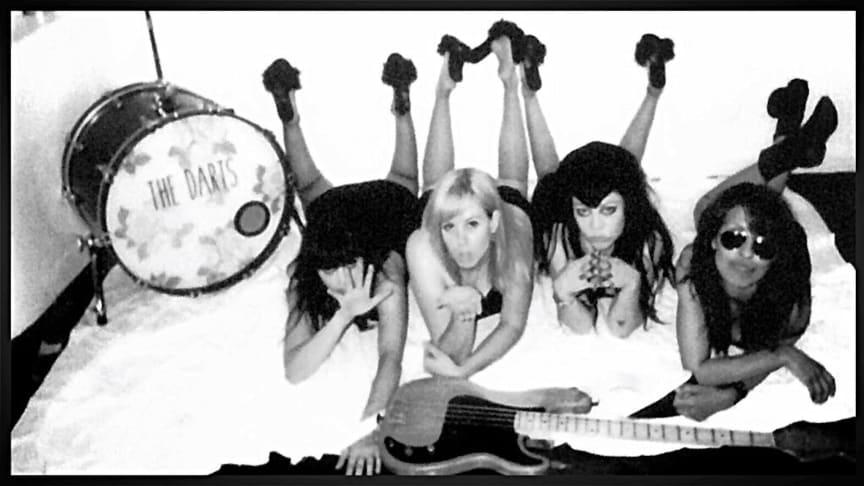 The Darts (US) L-R  Nicole Laurenne, Rikki Styxx, Christina Nunez, Michelle Balderrama         Photo: Kelly Sahr