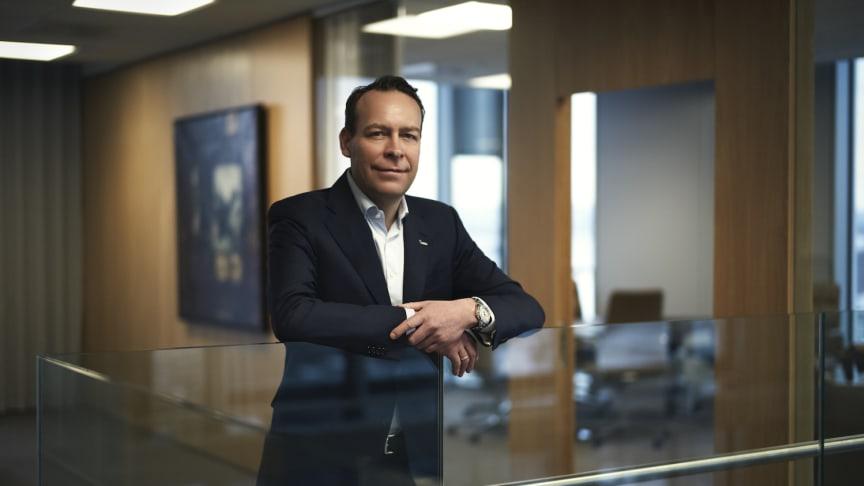 Orkla President and CEO Jaan Ivar Semlitsch. Photo: Bjørn Wad